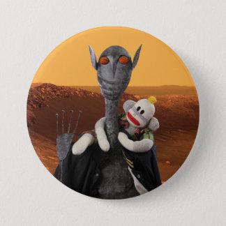 Bóton Redondo 7.62cm Vida em Marte