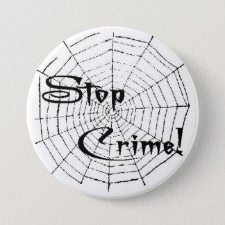 Bóton Redondo 7.62cm Web de aranha