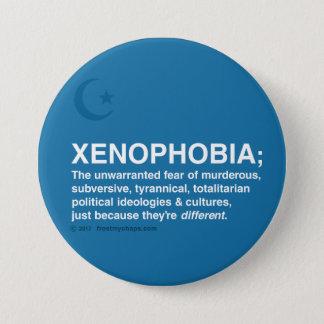 Bóton Redondo 7.62cm Xenofobia definida