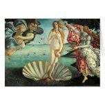 Botticelli - nascimento de Venus Cartões