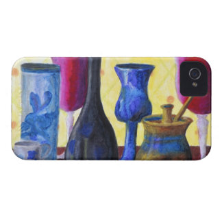 Bottlescape mim, tea party abstrato de Alice do Capa Para iPhone