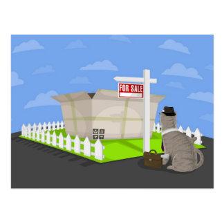 _box para a venda cartão postal