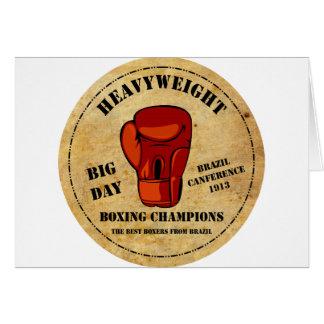 Boxe Champions Cartoes