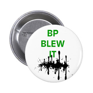 BP fundiu-o Bóton Redondo 5.08cm