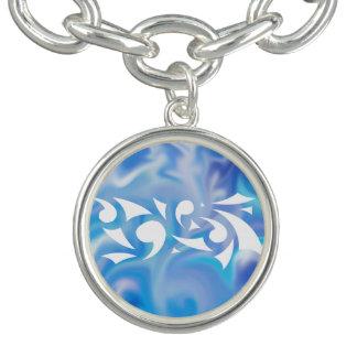 Bracelete azul do encanto dos sonhos