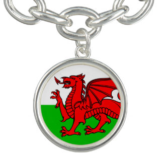 Bracelete Bandeira de Galês