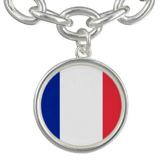 Bracelete Bandeira francesa patriótica