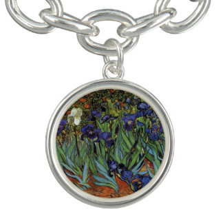 Bracelete Com Pingente A estrela de Vincent van Gogh torna iridescente o