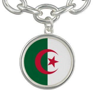 Bracelete Com Pingente Bandeira argelino patriótica