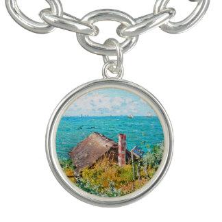 Bracelete Com Pingente Claude Monet a cabine em belas artes do