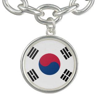 Bracelete Com Pingente Coreia do Sul