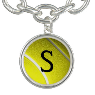 Bracelete Com Pingente Inicial do tênis