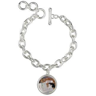 Bracelete Com Pingente Meu Klimt Serie: Mãe & criança