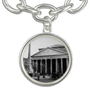 Bracelete Com Pingente O panteão em Roma, Italia