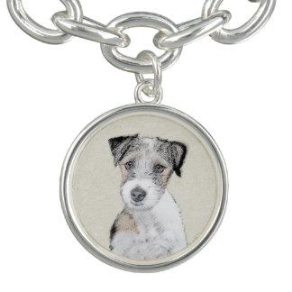 Bracelete Com Pingente Russell Terrier (áspero)