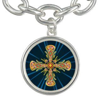 Bracelete Cruz da jóia