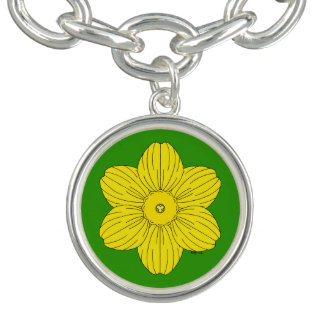 Bracelete Daffodil heráldico