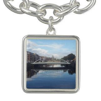 Bracelete do encanto da paisagem da ponte de