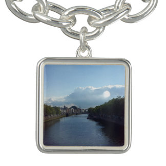 Bracelete do encanto da paisagem de Liffey do rio