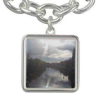 Bracelete do encanto da reflexão do nascer do sol