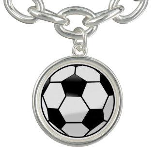 Bracelete do encanto de Soccerball