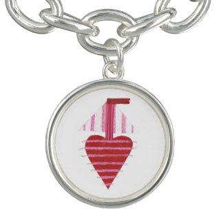 Bracelete do encanto do barco de Loveheart