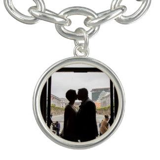 Bracelete do encanto do casamento de Chelsea & de