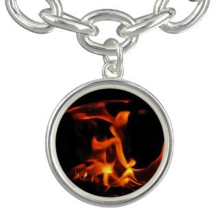 Bracelete do encanto do fogo da dança