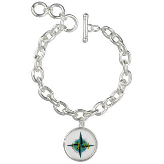 Bracelete do encanto do logotipo do OLMO
