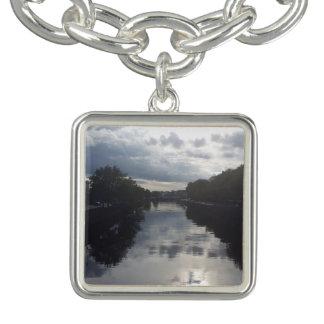 Bracelete do encanto do por do sol do rio de