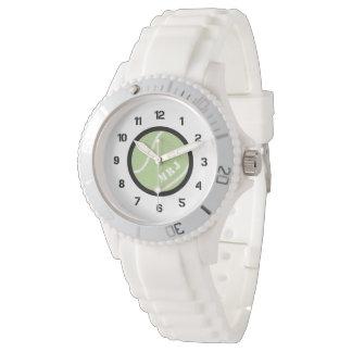 Bracelete do silicone do relógio do tênis do