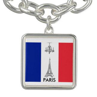 Bracelete francês do encanto de Paris da torre