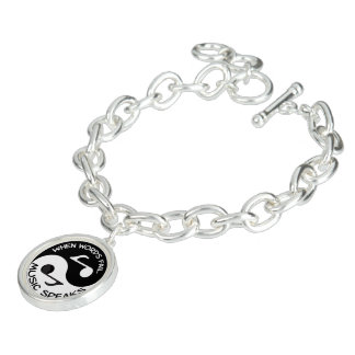 Bracelete Música de Yin yang