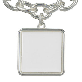 Bracelete quadrado feito sob encomenda do encanto
