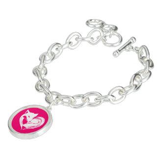 Bracelete Raposas do amor