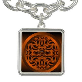 Bracelete sacral do encanto da mandala de Chakra