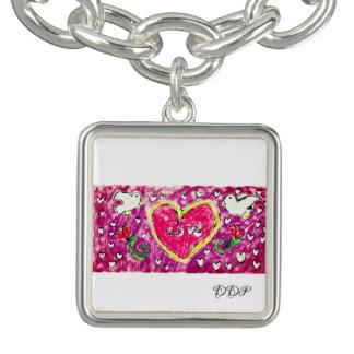 Braceletes arte do amor