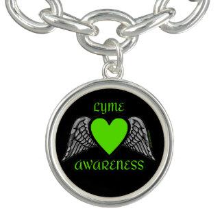Braceletes Com Charms Coração/asas… Lyme
