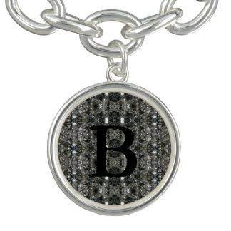 Braceletes Com Charms HAMbWG - prata ou jóia chapeada prata do encanto