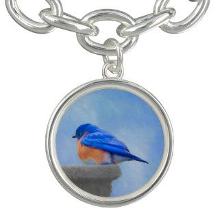 Braceletes Com Pingente Bluebird