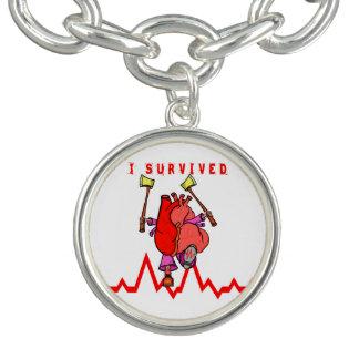 Braceletes Com Pingentes Desenhos animados engraçados do sobrevivente do