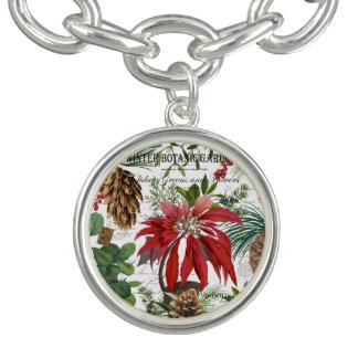 Braceletes Com Pingentes Wintergarden moderno do vintage floral