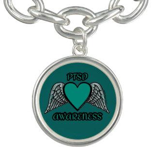 Braceletes Coração/asas… PTSD