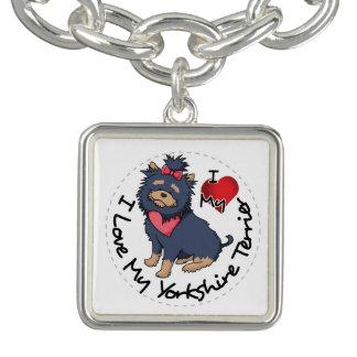 Braceletes Eu-Amor-Meu-Yorkshire-Terrier