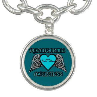 Bracente Com Charm Coração/asas… Dysautonomia
