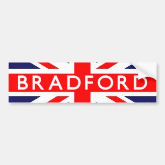 Bradford: Bandeira britânica Adesivo Para Carro