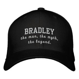 Bradley o homem, o mito, a legenda boné bordado