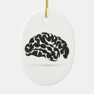 Brain6 Ornamento De Cerâmica