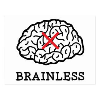 Brainless Cartão Postal