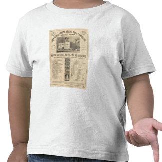 Brancas Nacional Conduções e Zinco Empresa Camiseta